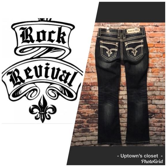 Rock Revival Denim - Rock revival jeans Dee style fleur denim